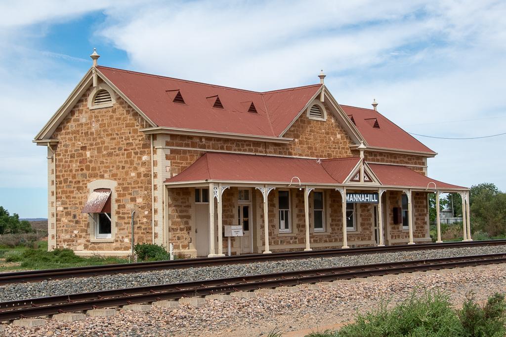 Mannahill station